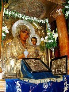 Икона Божией Матери Иерусалимская.