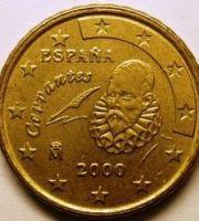 Испания 10 центов 2000
