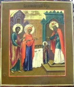"""продать икону """"Введение во храм Пресвятой Богородицы"""""""