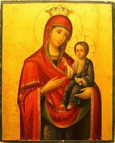 cb9cbebccd1a0 Афонская икона Божией Матери «Достойно есть». Молитва о Богородице. Продать  или купить икону Божией Матери в Киеве, в Мариуполе, в Днепропетровске, в  Изюме