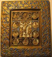 Икона Распятие с избранными клеймами