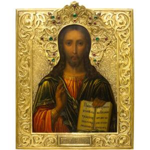 Спас Вседержитель – продать икону в Одессе