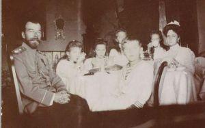 старинное фото царской семьи