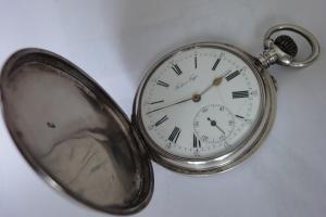 Старинные карманные часы Павел Бурэ