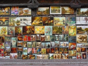 Продать старинную картину в Одессе