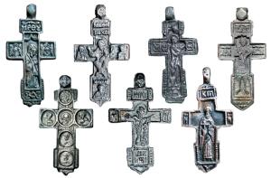 Оценить, продать старинный церковный крест из серебра Киев