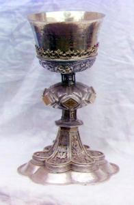 Церковный потир серебро