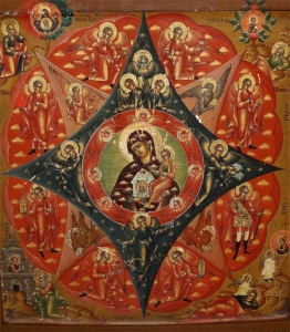 Ikona-Materi-Bozhey-Neopalimaya-Kupina-guslickih-pisem-ser-XIX-veka[1]