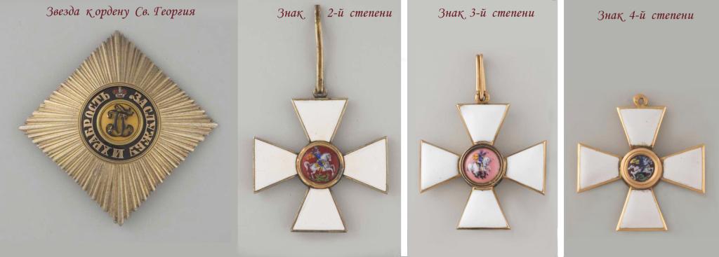 Орден Св. Георгия. Оценить, продать