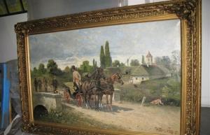 Як оцінити та продати старовинну картину Житомир, Коростінь, Бердичів