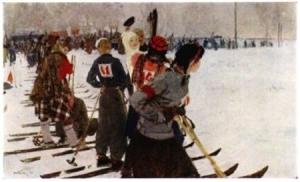 Картина Яблонской продать