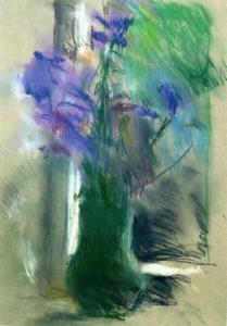 Картина Яблонской Колокольчики