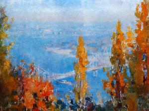 Картина Шишко Осень над днепром