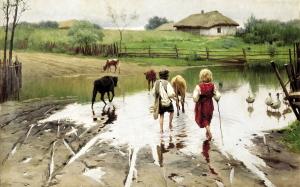 Картины Пимоненко продать