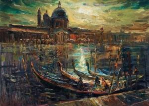 Картина Глущенко Венеция