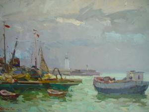 Картина Захарова Ялтинский Порт
