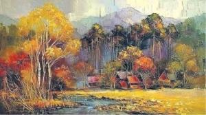 "Картина Манайло ""Золотая Осень"""