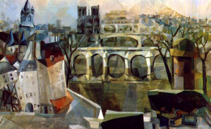 Картина Экстер Александры Вид Парижа