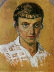 Кульчицкая Елена автопортрет