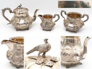 Продать антикварное серебро в Киеве и области