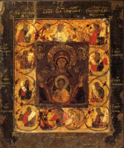 Курская старинная икона – оценить, продать в Киеве, Харькове, Одессе