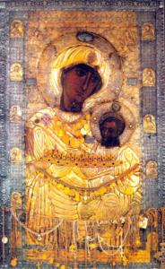 Старинная икона Иверская Богородицы – оценить, продать в Киеве, Украине