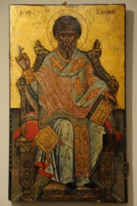 Спиридон Тримифунтский старинная икона