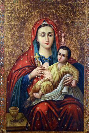 Козельщанская икона Богородицы, оценить, продать старинную икону