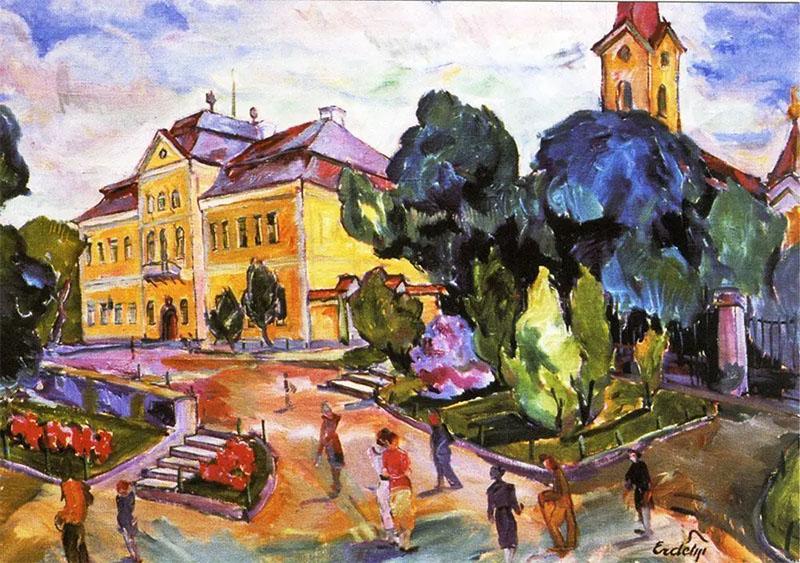 Картины Эрдели продать