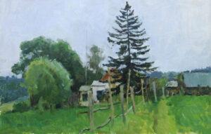 Nikolay-Sergeev-kartina-Posle-Dojdya