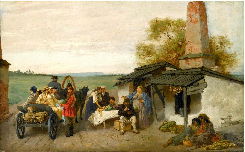 Трутовский картины продать