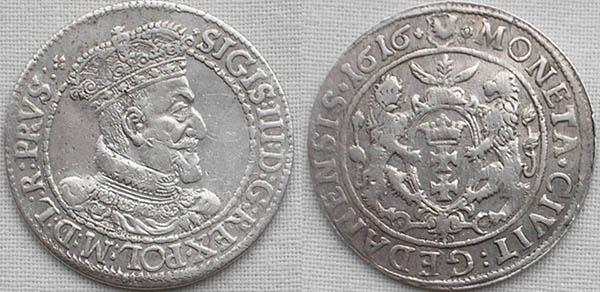 Продати срібну монету Рівне, Дубно, Буськ, Луцьк, орт Сігізмунда III
